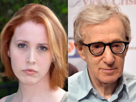 Dylan Farrow et Woody Allen