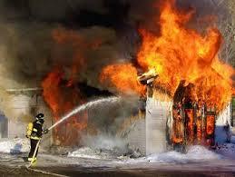 la résidence «Jardins de la Balme» a été incendiée
