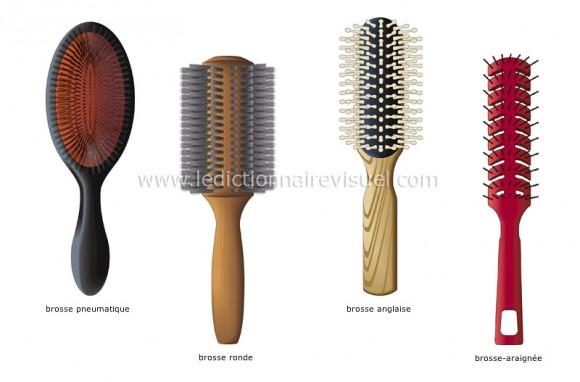 le nettoyage de la brosse à cheveux est indispensable