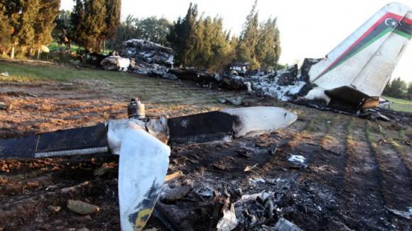 Crash d'un avion militaire libyen en Tunisie