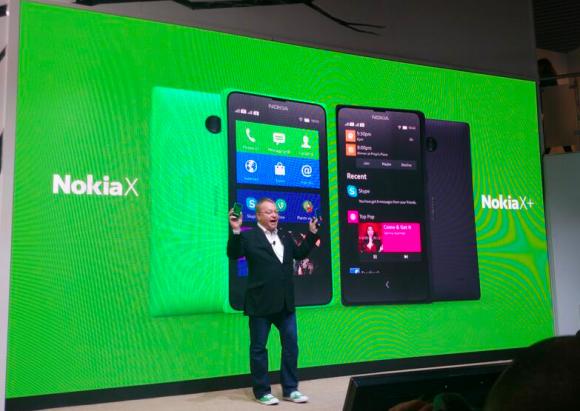 présentation des Nokia X XL et X+
