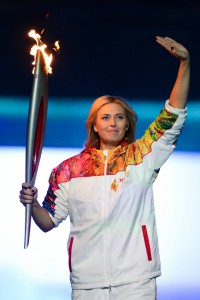 Ceremonie d'Ouverture - Maria Sharapova