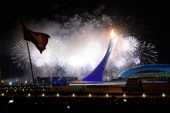 Ceremonie d'Ouverture - Torche Olympique