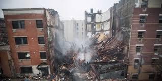 Effondrement de deux immeubles à New York