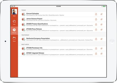 L'Office pour iPad