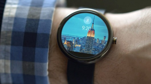 Montre fonctionnant sous Android Wear