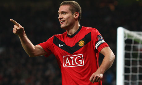 Nemanja Vidic restera capiataine de Manchester United jusqu'à la fin de saison.