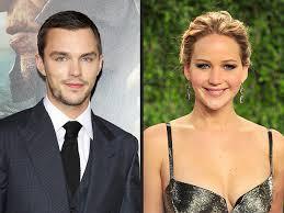Nicholas Hoult et Jennifer Lawrence