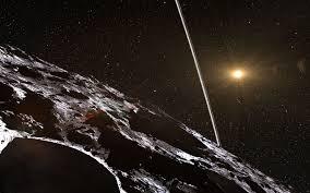 Un astéroïde entouré d'anneaux