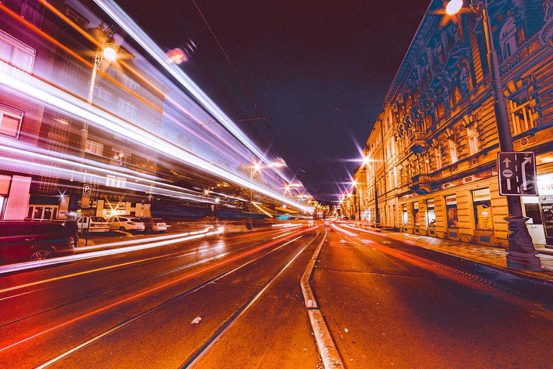 Ville Nuit Lumieres