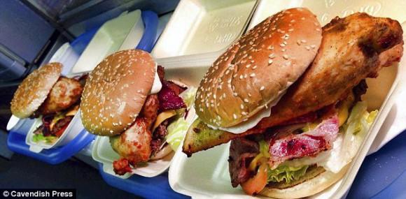 XXX hot Chili burger
