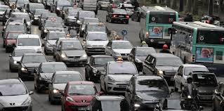 embouteillages automobiles