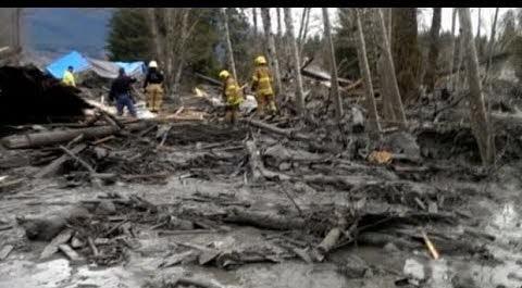 le glissement de terrain a causé la mort de 17 à 18 personnes