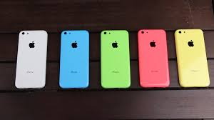 l'iPhone 5c: commercialisation
