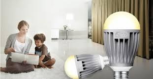 première ampoule connectée