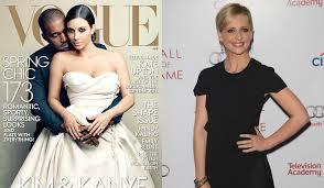 sarah michelle gellar n'apprécie pas la couverture  de Vogue