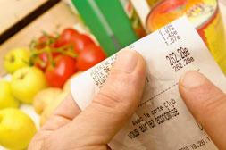 stabilité des dépenses d'alimentation cette année