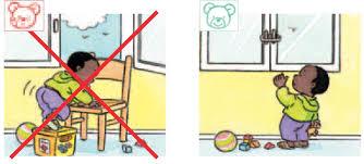 Augmentation du risque de chute par la fenêtre des enfants