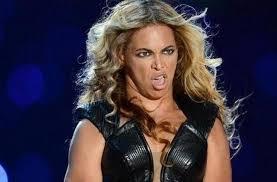 Beyoncé énervée c'est ça à peu près