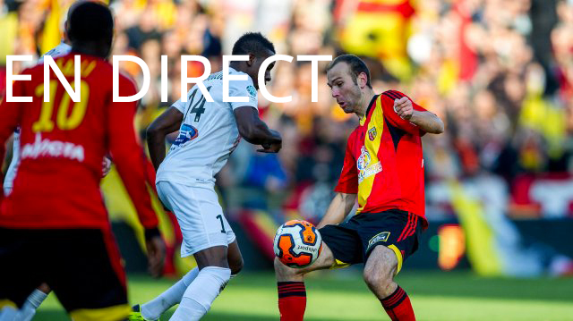 Match Châteauroux - RC Lens en direct