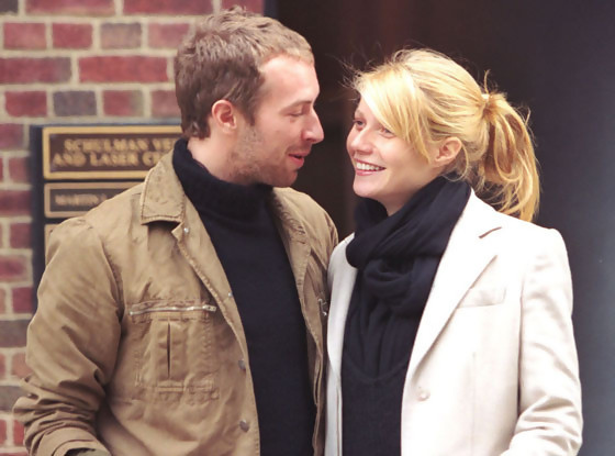 Gwyneth Paltrow et Chris Martin