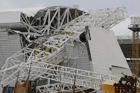Les travaux d'installation du stade de Sao Paulo ont été interrompus