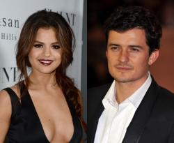 Selena-Gomez et Orlando-Bloom