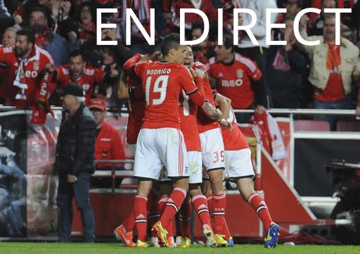 Match Benfica - Seville en direct