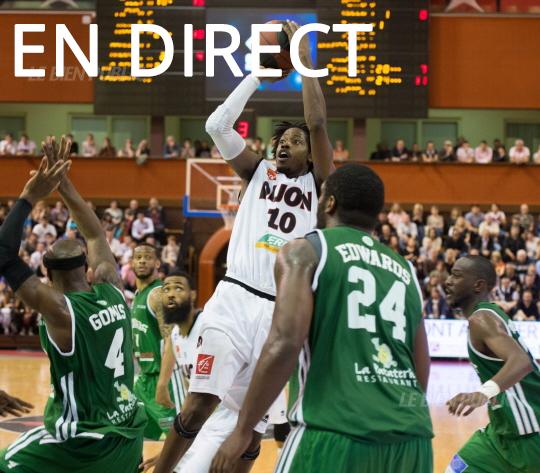 Match Limoges - Dijon en direct