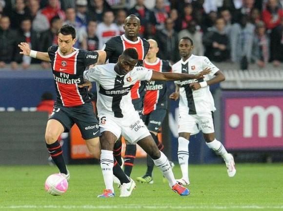 Match PSG Rennes en direct
