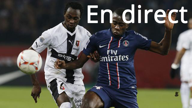 Match PSG Rennes en direct