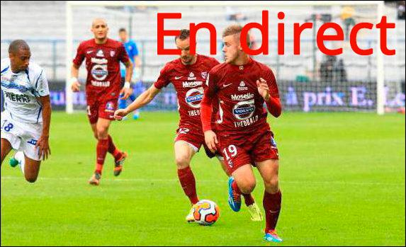 Match ESTAC Troyes - FC Metz