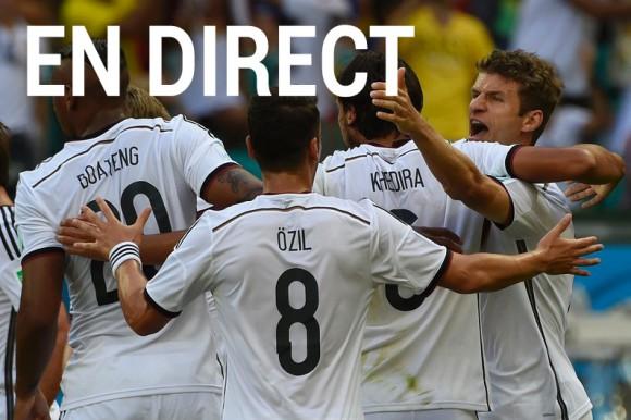 Match Allemagne Ghana en direct tv et streaming sur Internet