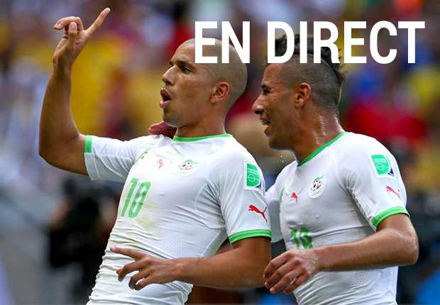 Match Corée du Sud - Algérie en direct tv et streaming sur Internet