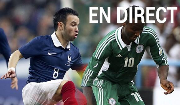 Match France Vs Nigeria en direct live et streaming
