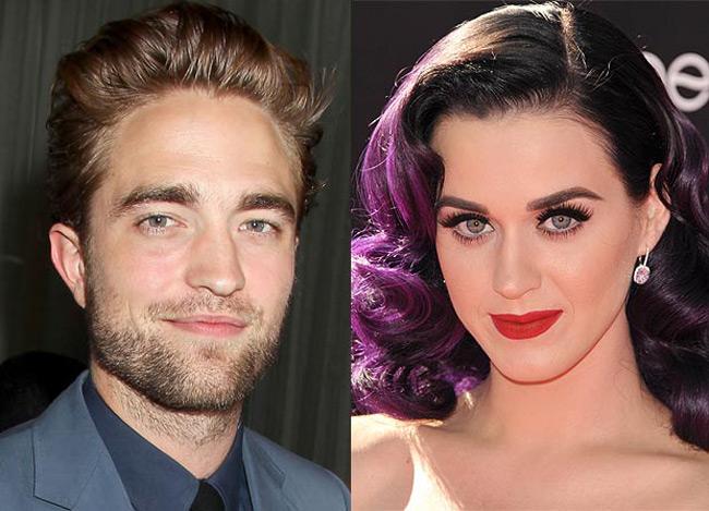 Robert Pattinson et Ketty Perry