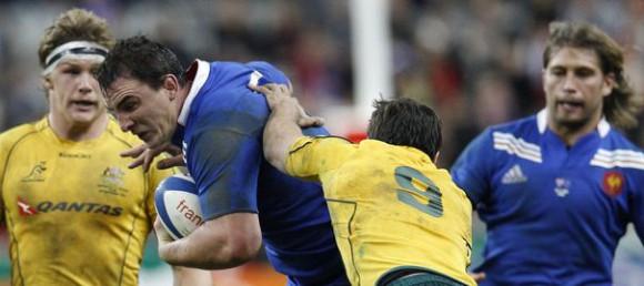Test-Match Rugby Australie - France