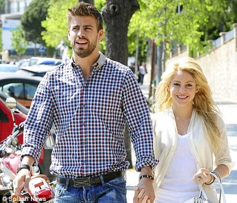Shakira et son compagnon