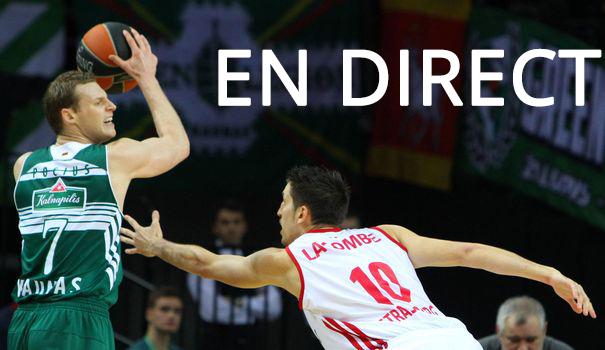 Match SIG Strasbourg - CSP Limoges en direct Tv et Streaming sur Internet