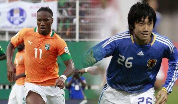 Match Côte d'Ivoire Vs Japon en direct Tv et streaming sur Internet