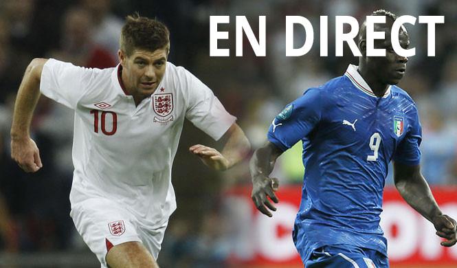 Match Angleterre Italie en direct tv et streaming sur Internet