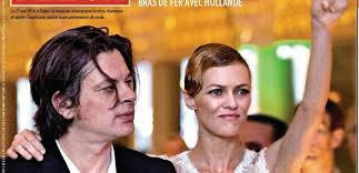 Benjamin Biolay et Vanessa Paradis inséparables