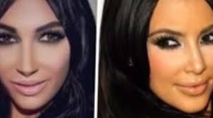 Claire Leeson tente de ressembler à Kim Kardashian