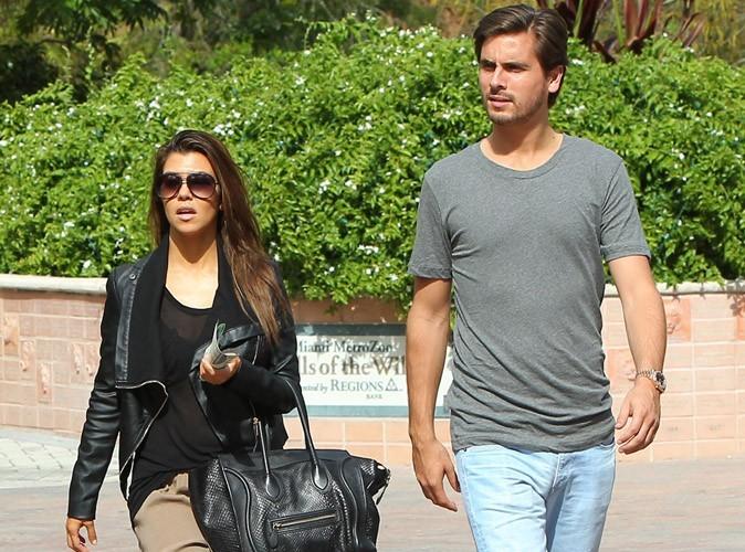 Kourtney Kardashian et son compagnon Scott Disick
