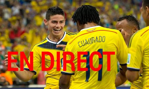 Match Bresil Colombie en direct tv et streaming sur Internet