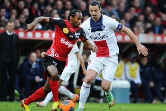 Voir le Match PSG Guingamp en Direct TV et Video Streaming Replay