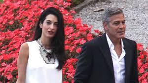 George Clooney et  Amal Alamuddin se sont dit oui?