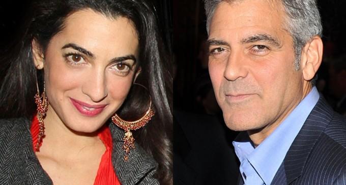 Le mariage à Venise de George et Amal