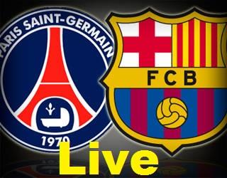 Match PSG FC Barcelone Foot