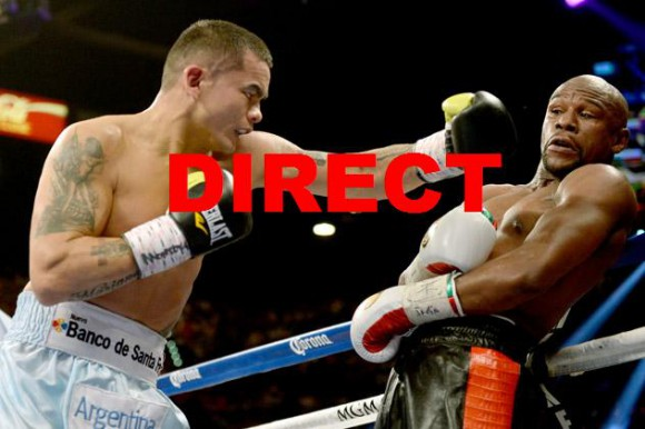 Retransmission combat Mayweather Maidana en direct live et streaming vidéo Championnat WBA 2014